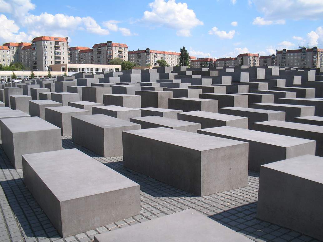 Holocaust-Mahnmal in Berlin, Foto: K. Weisser/Wikimedia Commons
