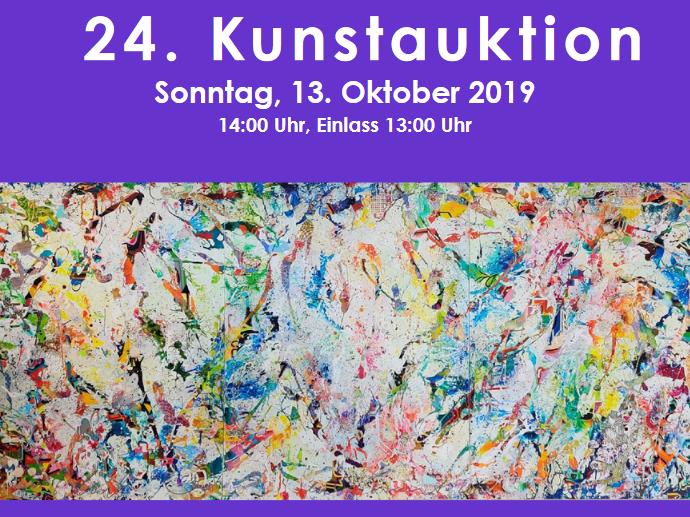 Ausschnitt Katalog Kunstauktion 2019, Bild von Christian Awe (Titel: EN VIE Vivant); Quelle: EKBO