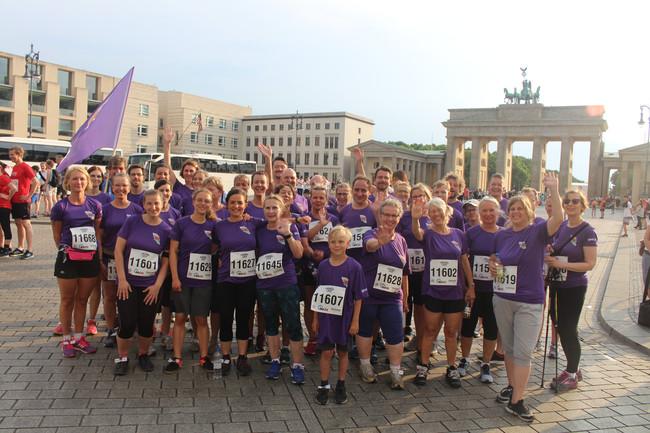 Das Team der EKBO beim Berliner Firmenlauf 2018. Fotos: EKBO.